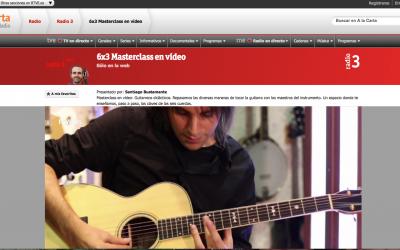 Masterclass: La afinación Rivera: Oneiric Tales en 6×3 de Radio3 (RNE)