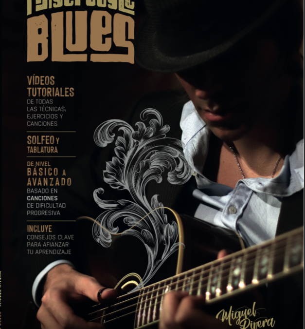 Nuevo Libro: FingerStyle Blues: con más de 40 vídeos tutoriales.