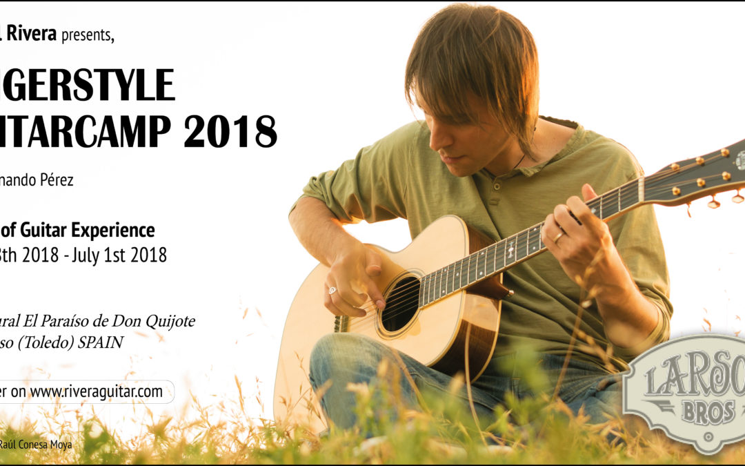 Fingerstyle Guitar Camp 2018