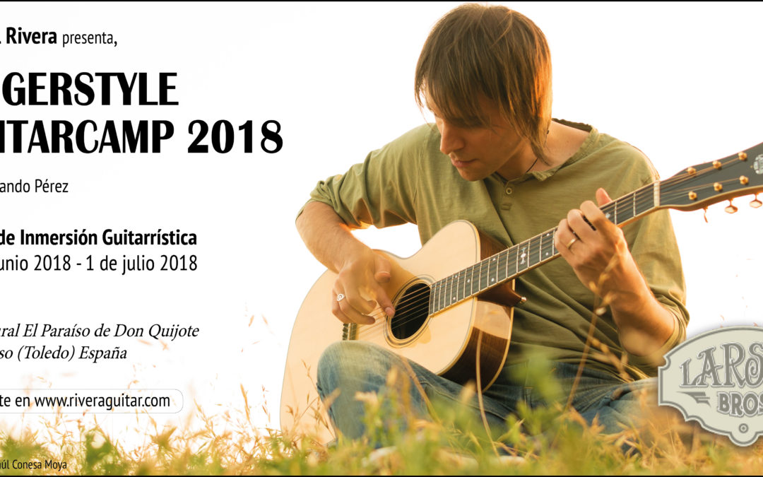 Fingerstyle Guitar Camp 2018  (Español)
