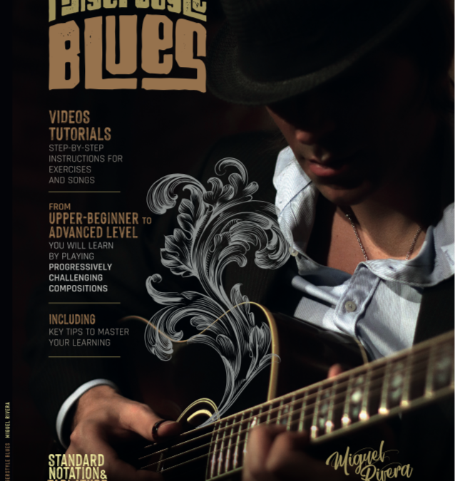 New Book: Fingerstyle Blues: with more than 40 tutorial videos